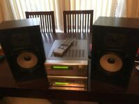 Denon Hi-Fi system for sale as complete or individual components.