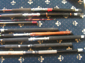 8 Boat rods