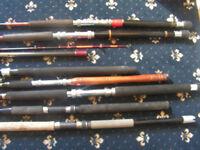 8 Boat rods
