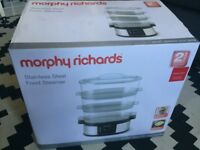 Morphy Richards 48755 Stainless Steel Food Steamer