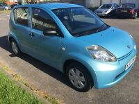 Daihatsu Sirion S 5 door hatchback. Only 35k miles with full service history and 1 former owner.