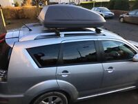 Roof Box with Thule Roof Bars