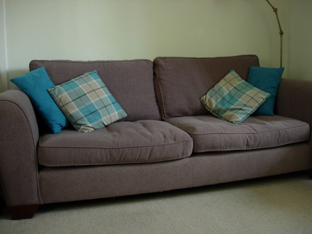 Marks And Spencer Living Room Furniture Marks And Spencer Large Sofa 3 Seater Urbino Taupe Brown Waffle