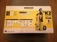 Karcher K2 pressure washer, full control + home kit