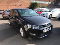 VOLKSWAGEN POLO 1.2 MATCH EDITION 5 DOORS BLACK