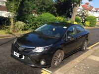 "PCO CAR HIRE RENT ONLY £180 P/W with INSURANCE 2013 ""13 REG"" **UBER READY** TOYOTA AVENSIS"