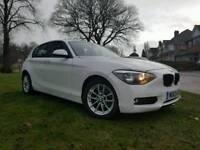 BMW 116D EFF DYNAMICS F20 NEW SHAPE I-DRIVE SAT NAV KEYLESS GO MP3 AUX USB PHONE BLUTOOTH
