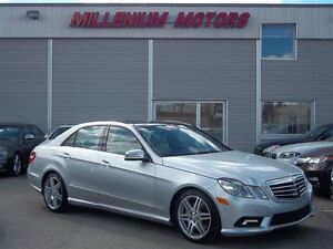 2010 Mercedes-Benz E-Class E550 4MATIC / NAVI / LEATHER / SUNROO