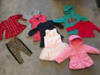 18-24m girls clothes designer bundle incl coat