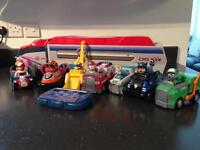 Paw patrol patroller and toys