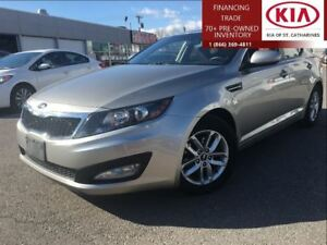 2013 Kia Optima LX | HTD Seats | Pwr Seat | Cruise | Bluetooth |