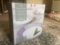 NEXT tableware brand new porcelain plates bowls side plates