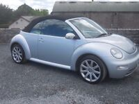 2005 vw tdi beetle convertible with 18 in alloys