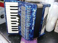 lightweight weltmeister perle 48 bass accordion