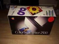 **VINTAGE 1996**APPLE COLOR STYLEWRITER 2500**RETRO**VERY RARE**
