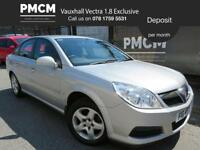 VAUXHALL VECTRA 2007 1.8 VVT EXCLUSIVE - AFFORDABLE SALOON CAR - S.H - insignia mondeo avensis 2007