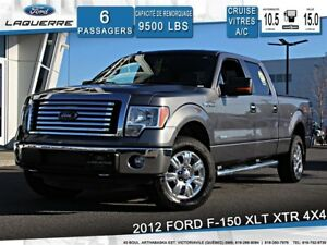 2012 Ford F-150 XLT XTR**4X4*6 PLACES*CRUISE*A/C**
