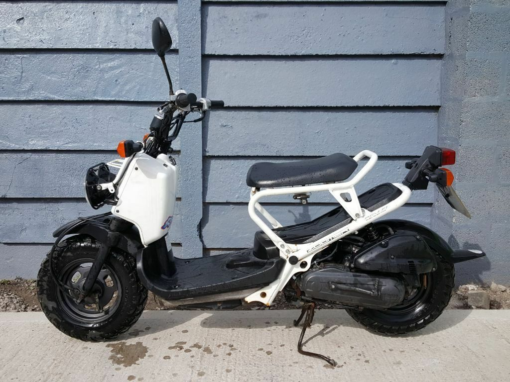2007 honda nps50 zoomer ruckus scooter rare uk model 12 months mot white in wells. Black Bedroom Furniture Sets. Home Design Ideas