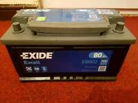 80Ah Car battery