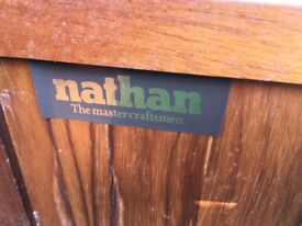 Nathan. Retro small sideboard. Great condion