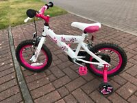 "Girls 14"" Avico Dream Bike"