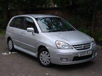 RARE AUTO!! 2005 SUZUKI LIANA 1.6 GLX 5dr AUTOMATIC, 1 YEAR MOT, WARRANTY