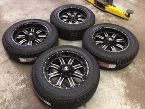 "20"" RDR Wheels 5x139.7 and All Terrain Tires 275/60R20 (DODGE RAM 1500)"