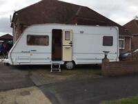North Star award 4 berth single axel caravan