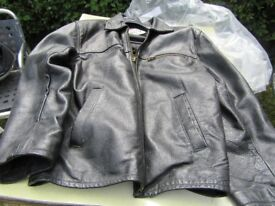 Leather Jacket size Medium
