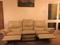 Manual Recliner 3 And 2 Seater Sofa(free Delivery To Local)