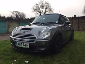 mini cooper s (fully loaded) facelift 2004 (63000 miles)