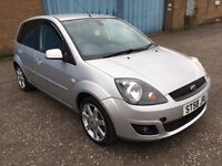 (58) Ford Fiesta zetec 1.2 , mot - March 2017 , service history , 3 owners,corsa,clio,punto,yaris