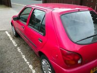 fiesta for sale - ready to drive away. £200 ono