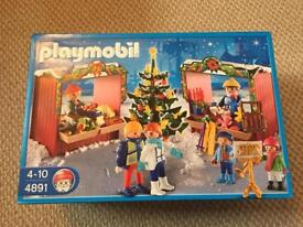 New Playmobil Christmas Market 4891