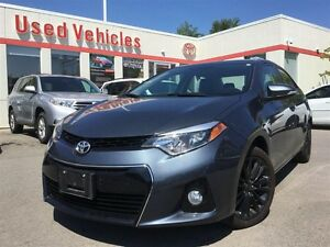 2015 Toyota Corolla SPORT - Leather Interior / Sun