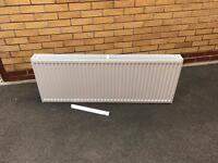 500mm x 1300mm double panel double convector radiator