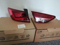 Seat leon FR 5F NSR tail lights (pair)