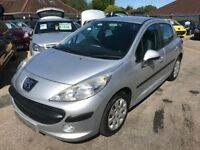 2009/09 PEUGEOT 207 1.4 VTI S 5DR (A/C) SILVER,GREAT ECONOMY, STUNNING LOOKS & DRIVES WELL