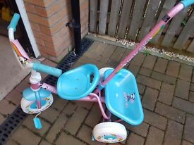 Pink and blue trike