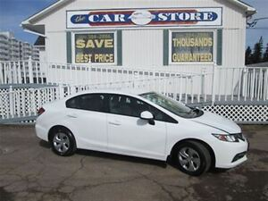 2013 Honda Civic LX!! AIR!! CRUISE!! HEATED SEATS!! CD!!