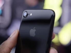 Iphone 7 jet black 128 GB under Apple warranty