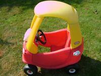 Little Tikes Childrens Car.