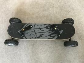 Balance board with foot straps