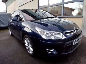 2009 Citroen c4 VTR+ Low miles 61000 1.6HDI EGS automatic (6speed) paddle shifts Swap Px.