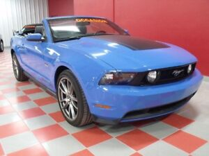 2011 Ford Mustang 26 836 KM**GT**CONVERTIBLE**MANUELLE