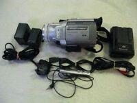ENDED Panasonic NV-MX500B Mini DV Camcorder. 3CCD. 3 Mpxel. OIS. AV/DV-in.Focus Ring.