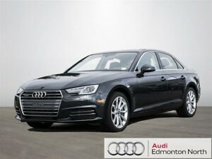 2017 Audi A4 2.0T Progressiv Quattro 7sp S Tronic Executive Dem