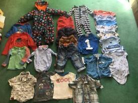 Baby boy bundle 12-18 months 1-1.5 years designer next Zara snowsuit