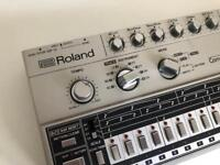 Roland TR 606 Analog Drum Machine With Kenton Individual Output Kit