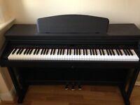 Axus D2 Digital Piano: Black